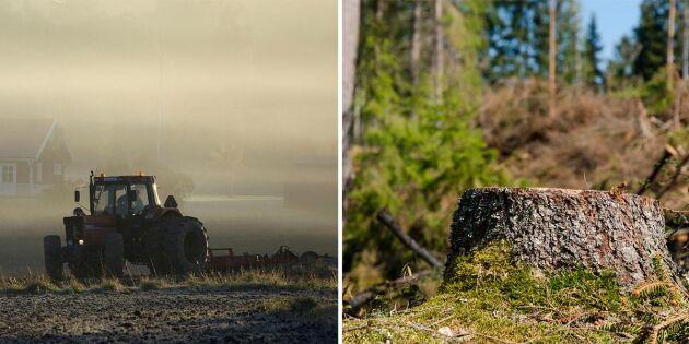 Skippa skrämselpropagandan –låt oss bruka jord och skog
