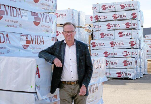 Santhe Dahl, koncernchef på Vida, kan se tillbaka på ett bra halvår. Resultatet mer än fördubblades och landade på knappt en halv miljard kronor.