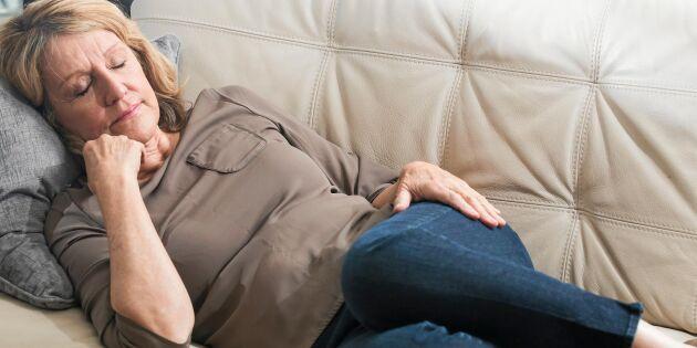 Tupplurar under dagen kan vara tidigt tecken på Alzheimers