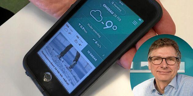Ny app för dig som vill ha ännu bättre väderkoll!