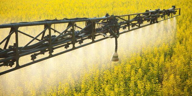 Hårdare tryck för striktare växtskyddsregler i EU