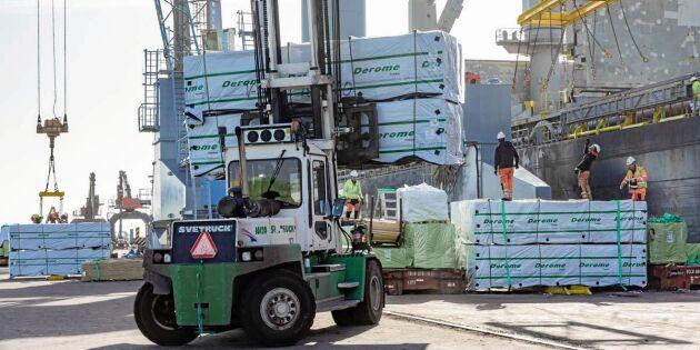 USA-marknaden allt viktigare för sågverken