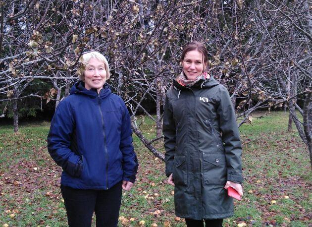 Sara Byström och Ann-Kristin Isaksson.