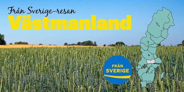 Från Sverige-resan i Västmanland: Finbak och finöl - och gurka och kebab på det