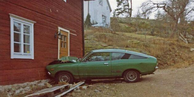 Bildspel: Bilkrascher i Vällehorvabacken sedan 1983