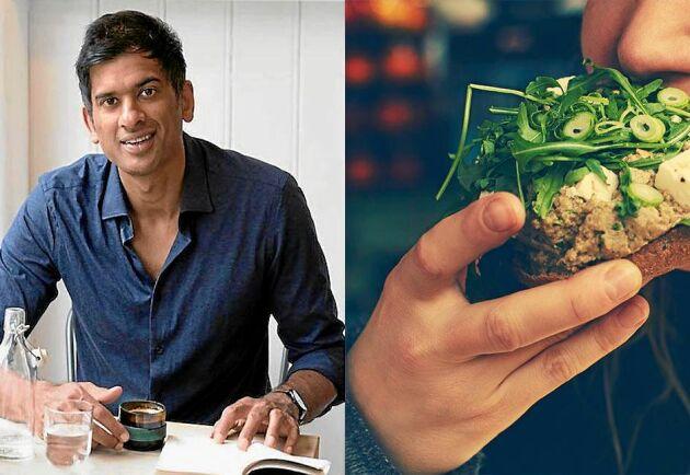 """Läkaren Rangan Chatterjee tipsar om """"att äta hela alfabetet""""."""