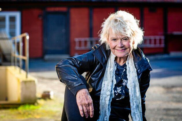 """Janet """"Holgie"""" Caplinger, deltagare i """"Allt för Sverige"""" 2019."""
