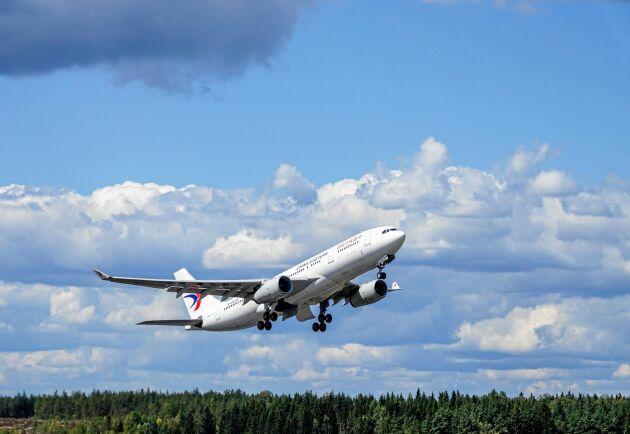 Svenskarnas flygresande ökar med 3 procent varje år –en utveckling som måste vända om vi ska nå klimatmålen.