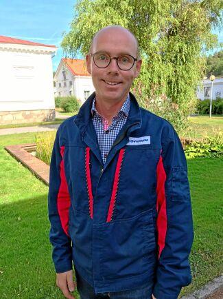 Ulrik Thelin är operations manager på Överum.