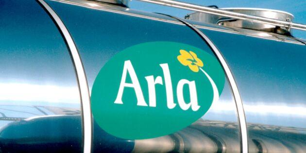 Oförändrat mjölkpris från Arla