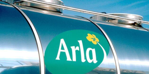 JUST NU: Oförändrat mjölkpris från Arla