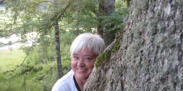 Skog och singelservice ligger henne varmt om hjärtat