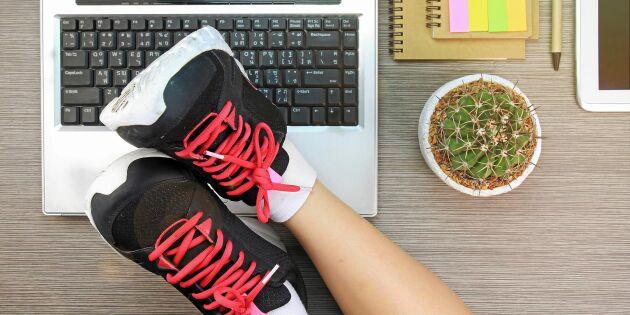 Smygträna där du är: 7 enkla övningar som förbättrar din hälsa – utan svett!