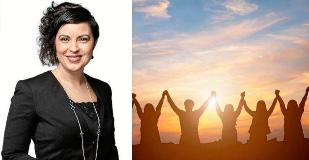 Hela Sverige lever och där finns massor med levande, starka kvinnor som skapar kraften i bygden varje dag, skriver Terese Bengard.