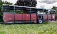 Nya djurvagnar lastar upp till nio ton