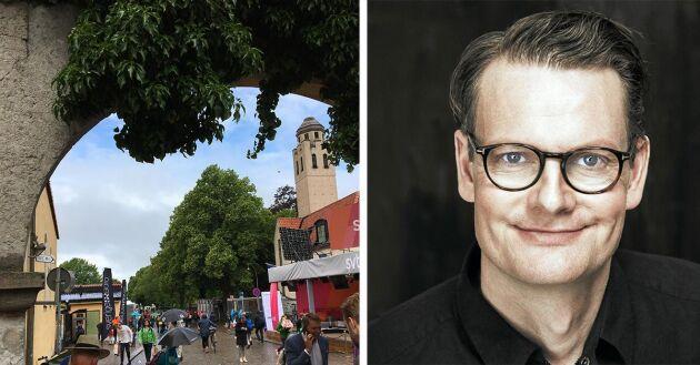 Per Schlingmann pratar landsbygd i Almedalen 2018.