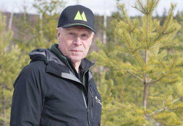 Åke Hansson, skoglig rådgivare på Mellanskog.