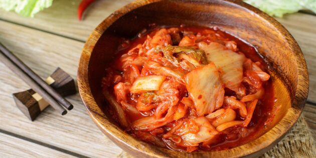 Syrad kål från Korea - supergott med svenska råvaror