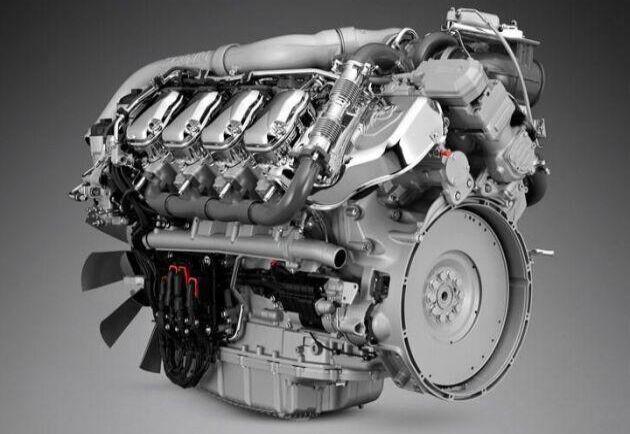 Scania presenterade i september fyra nya V8:or på 530, 590, 660 och 770 hästkrafter.