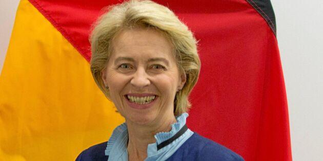 Hon blir första kvinnan som föreslås få toppjobbet i EU