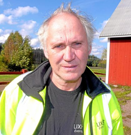 Gert Johansson driver Lixhults Entreprenad.