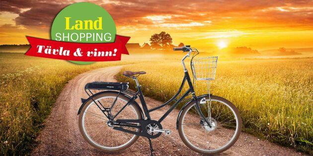 AVSLUTAD: Vinn en elcykel – sommarfrihet på två hjul