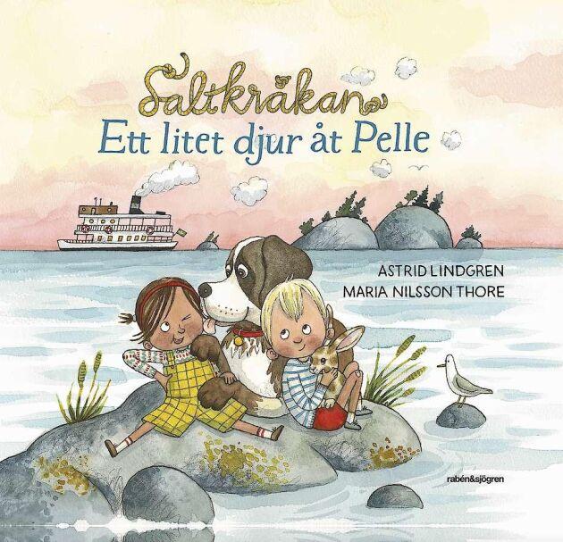 """Maria Nilsson Thore har illustrerat """"Ett litet djur åt Pelle""""."""