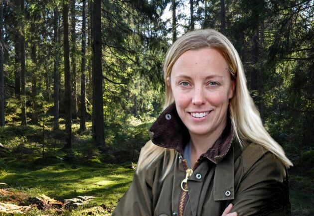 Marit Bohlin skriver krönikor i Land Skogsbruk.