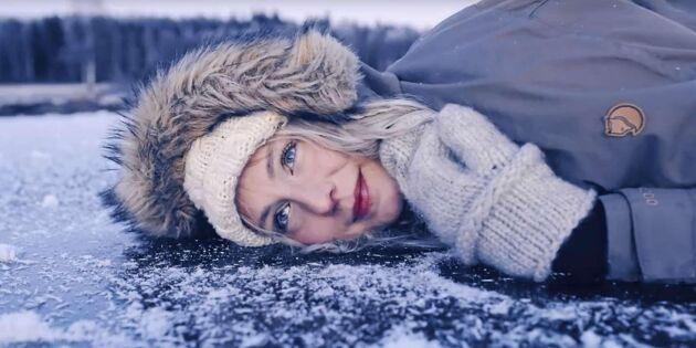 Därför sjunger isen om vintern – lyssna på Jonna Jintons magiska inspelning!