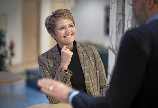Det politiska läget med bildandet av en ny regering öppnar möjligheter för LRF att påverka, anser Anna Karin Hatt som blir VD för organisationen i augusti.
