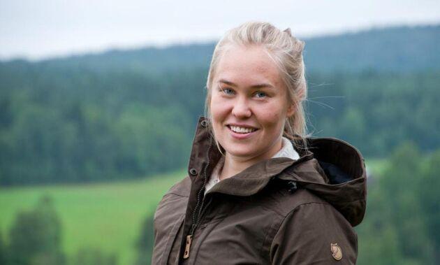 Carolina Berg Rustas och hennes studentkursare på jägmästarprogrammet på SLU vill hjälpa till att väcka intresse för utbildningen. De har dragit i gång en blogg där de berättar om vad de får göra under utbildningen.