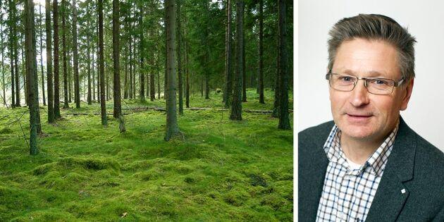 """""""För få skogsbruksplaner får negativa konsekvenser"""""""