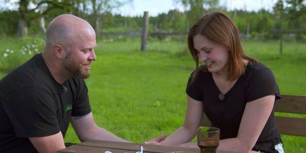 Se klippen: Kärlek vid första ögonkastet i Bonde söker fru