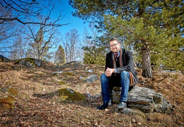 Sölvesborgare. Jimmie Åkesson har blivit sin hembygd trogen och bor kvar i Blekinge.