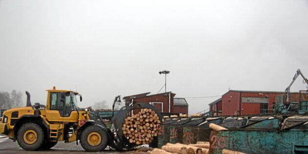 Vinterkaos drabbar produktionen i sågverken
