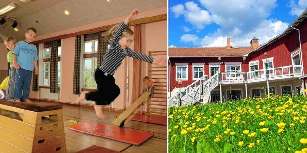 Bygdegården som gör succé: förskola, dans och laddstation för elbilar