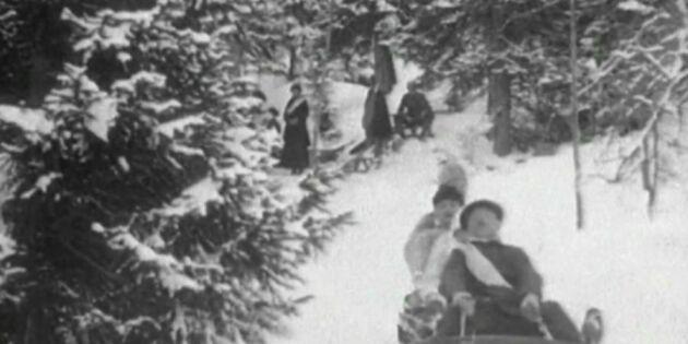 Spana in vintermyset - för 101 år sedan
