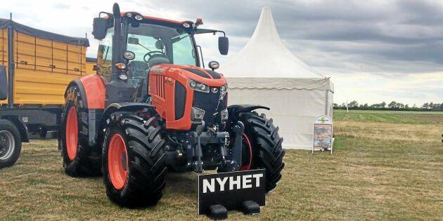 Kubotas nya traktor snart i Sverige