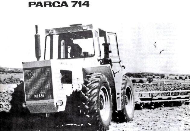 På Elmia 1965 visades den upp. Traktorn för de stora arealerna som fick rådgivarna att räkna på om det kunde löna sig att köpa en traktor i den nya klassen 150 hästkrafters traktorer.