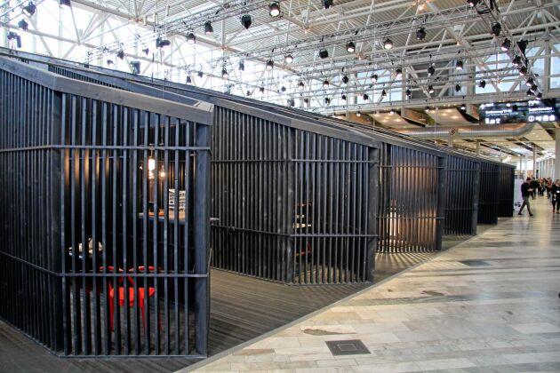 Konstinstallation av kinesiska designbyrån Neri & Hu, byggd av sex kilometer värmländsk furu.