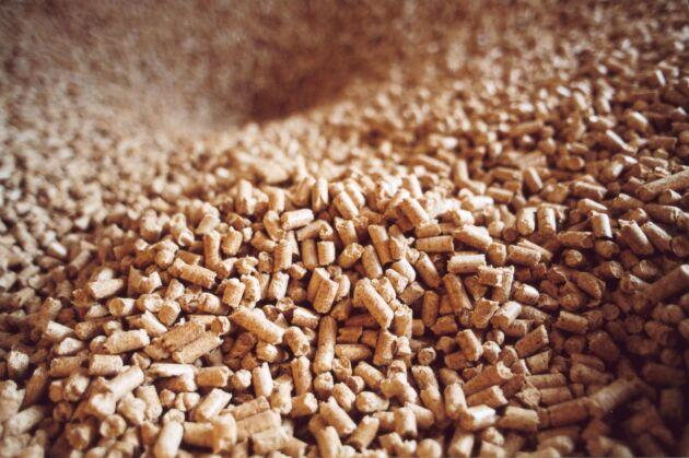 Produktionen av träpellets slog nytt rekord i Finland förra året.