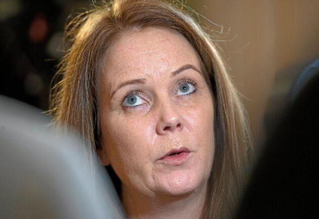 Jennie Nilsson vill att översynen av stödområdena ska leda till mer rättvisa villkor.