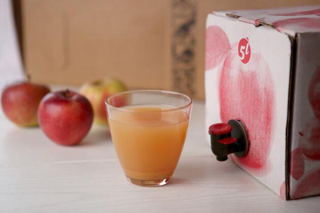 Att lämna in frukten till ett musteri är ett bra alternativ för dig med stor skörd.