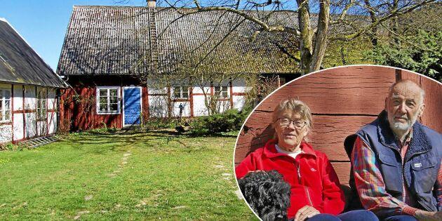 Skånelänga med örtagård blev hem åt familj på sju