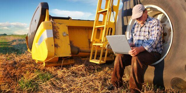 Data blir en tillgång för bönderna