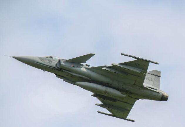 Lågflygningar över Gotland resulterade i att ett sto kastade sitt foster. Nu får Försvarsmakten ersätta hästägaren. Arkivbild.