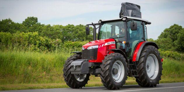 Nya traktorer från Massey Ferguson