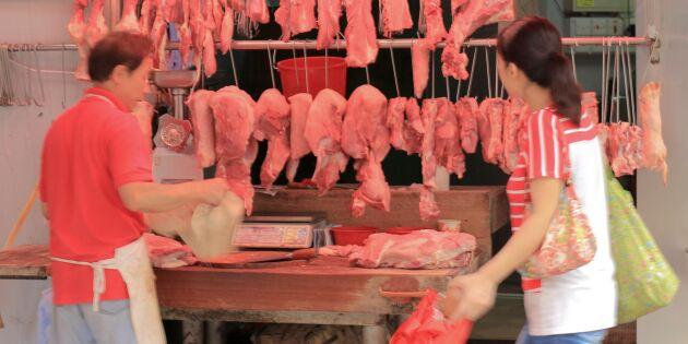 Afrikansk svinpest får matpriserna att öka i Kina