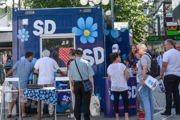 """Sverigedemokraterna anklagas för den politik som det faktiskt är vänsterregeringen som står för"""", skriver SD:s Tomas Brandberg i en debattreplik."""