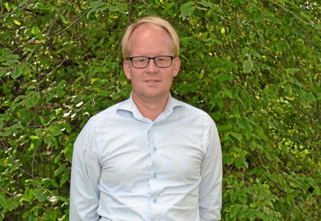 Claes Johansson, hållbarhetschef för Lantmännen.